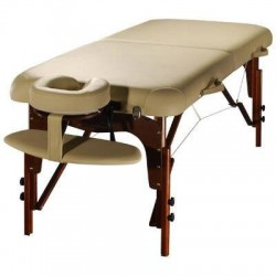 Table de Massage Confort Pro Wengé - Photo réelle